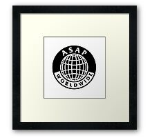 asap world wide Framed Print