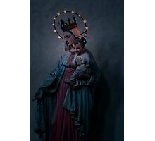 Madonna with Child Photographic Print