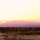 Uluru Sunrise & Dust Storm by Steven Pearce