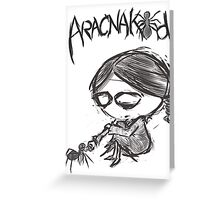 Aracnakid #10 Greeting Card