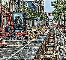 Road Works by Michael Phillips Photography