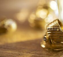 charm and beauty through some gold rings by salvo