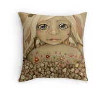 Nature's Child Throw Pillow