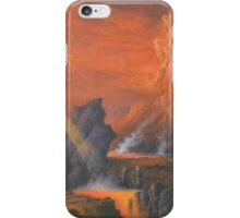 Mount Doom The Eye Of Sauron. iPhone Case/Skin