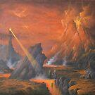 Mount Doom The Eye Of Sauron. by Joe Gilronan