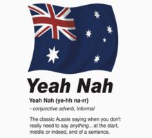 Yeah Nah (Version 2) by wildimagenation