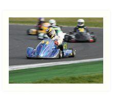 Fast Kart Art Print