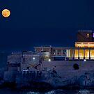 Full Moon over Dragonara Casino by Jakov Cordina