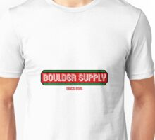 Neon Lights Green and Red Boulder Supply Unisex T-Shirt