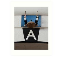 The Conductor in a Tux. Art Print
