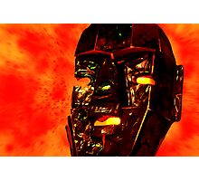 God of Fire Photographic Print
