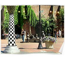 Downtown Eugene Mall - Oregon Poster