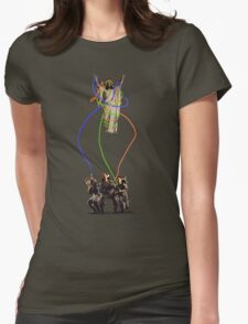JESUS BUSTERS Womens Fitted T-Shirt