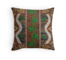 Intricacies of nature Throw Pillow