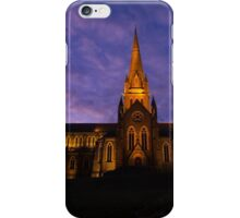 Cathedral under Purple Skies iPhone Case/Skin