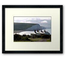 Cuckmere Cottages Framed Print