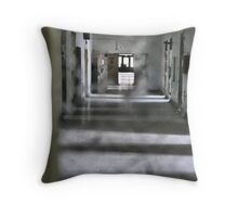 hospital ward Throw Pillow