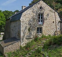 Rochefort-en-Terre, Brittany, France #5 by Elaine Teague