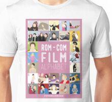 Rom Com Film Alphabet Unisex T-Shirt