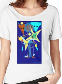 Alien party Women's Relaxed Fit T-Shirt