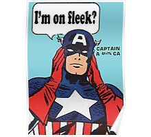 I'm On Fleek? Superhero Poster