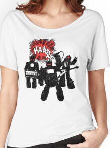 Kaboom Robot Rock Women's Relaxed Fit T-Shirt