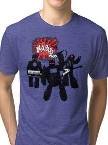 Kaboom Robot Rock Tri-blend T-Shirt