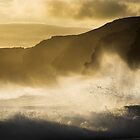 Sea Spray at Innes National Park South Australia by Paul Pegler