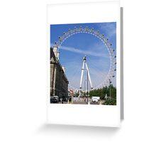 The London eye,  Greeting Card