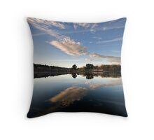 Lake reflections - Daylesford Throw Pillow