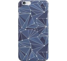 Indigo Geometric Zodiac Space Pattern iPhone Case/Skin