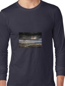 A Storm Approaches in the Welsh Valleys Long Sleeve T-Shirt