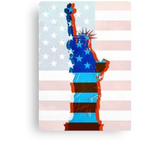 Statue of liberty / USA Canvas Print