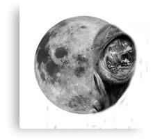 Alienated Moon Canvas Print