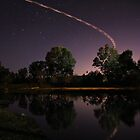 Murray River at Night by John Vandeven