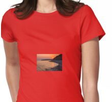 Sunset Special down at Llantwit Major Beach, Wales, UK Womens Fitted T-Shirt
