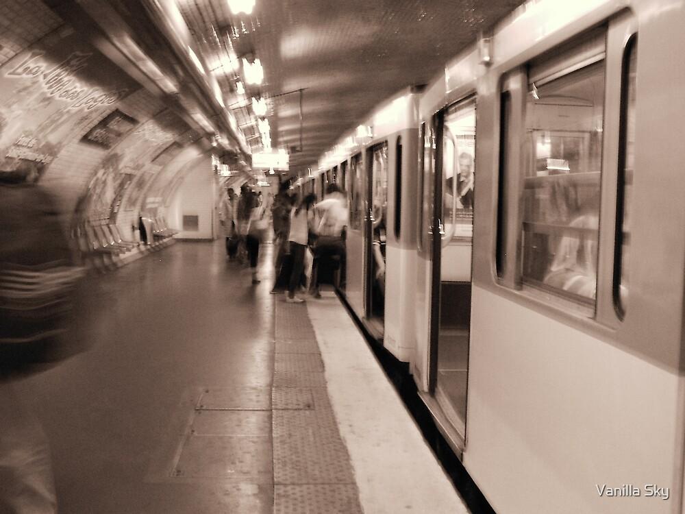 The Paris Metro by Vanilla Sky