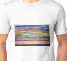 Sunset at Tin Mine Cove Unisex T-Shirt
