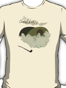 The Shire Vintage Travel Poster T-Shirt