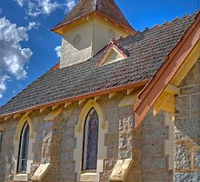 The Country Church, Currawong, NSW by Adrian Paul