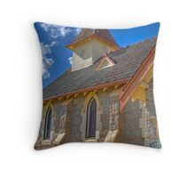 The Country Church, Currawong, NSW Throw Pillow