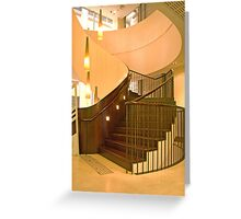 Staircase, Customs House, Sydney, NSW, Australia Greeting Card