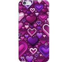 Lovestruck - Heart Pattern iPhone Case/Skin