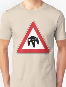 Retro Games Traffic Unisex T-Shirt