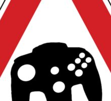 Retro Games Traffic Sticker