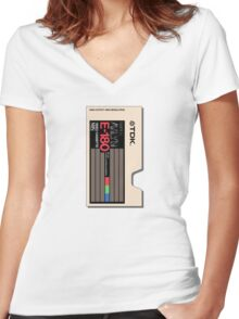 VHS Classica 017 Women's Fitted V-Neck T-Shirt