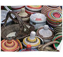 Basket Collection Full of Colour Poster