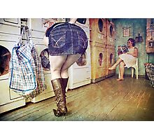 The Laundromat Photographic Print