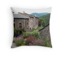Nohedes Village Favourite Cottages Throw Pillow