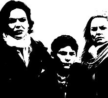 Swan-Mills Family by gridinabox